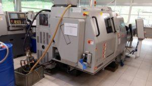 Makinate | Tour CNC a poupée mobile HANWHA STL 32H d'occasion (1)