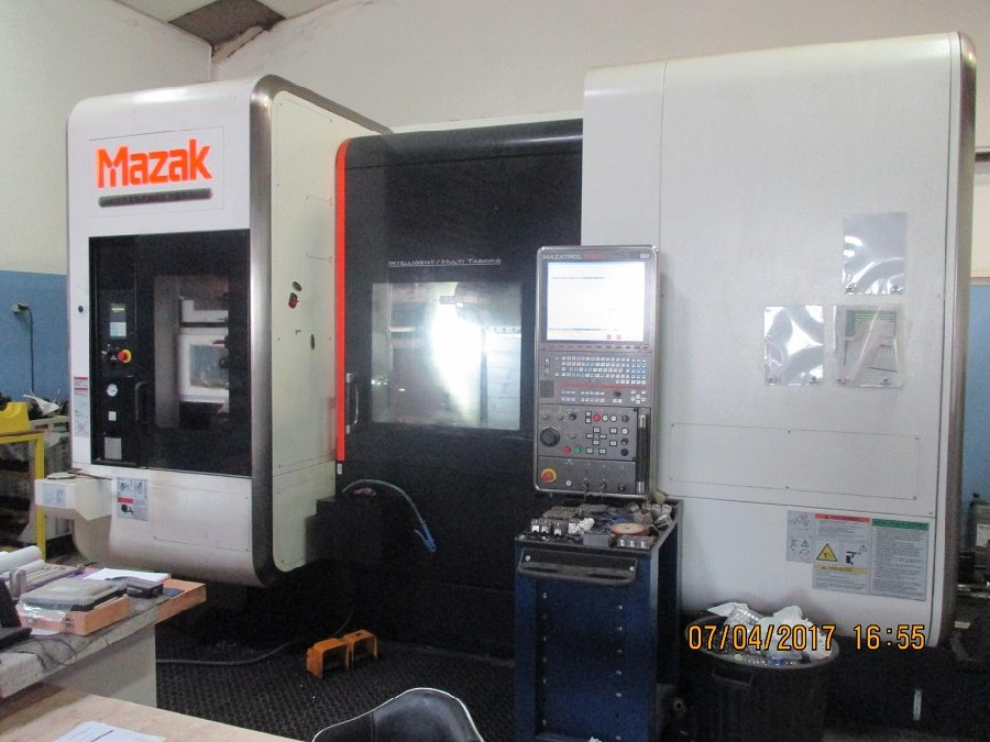 Makinate | Tour multitâches Mazak Integrex i-200 x 1000 U d'occasion (1)